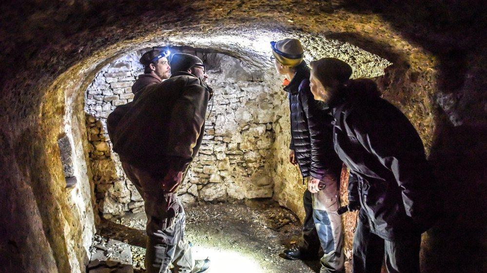 La cave de la ferme du Pélard offre un environnement propice à l'hivernation des petits rhinolophes.