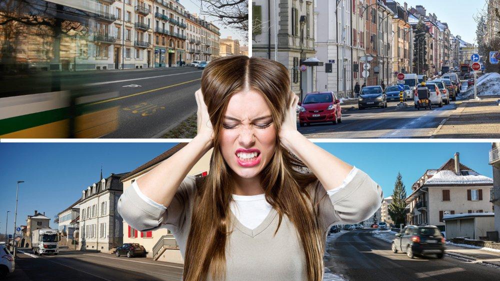 Des mesures doivent être prises pour limiter le bruit routier.