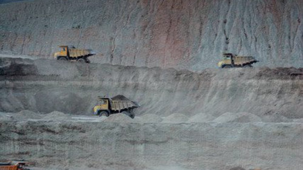 L'exploitation aurifère est très dommageable pour l'environnement, notamment en raison de l'utilisation d'arsenic. Ici, la mine de Zaamar, en Mongolie.