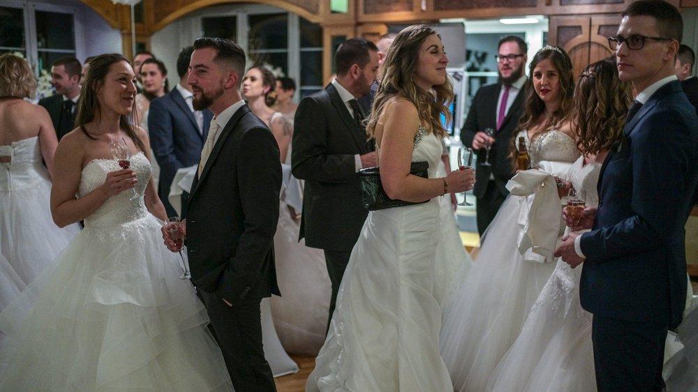 L'hôtel Pont de Thielle a fait revivre une quarantaine de mariages, le jour de la Saint-Valentin.
