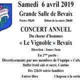 Soirée-Concert annuel