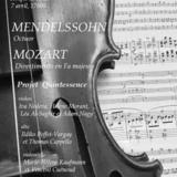 Mendelssohn & Mozart // Octuor & Divertimento