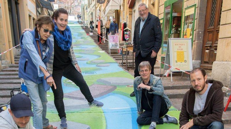 Pier Schwaab, le premier à avoir peint la rue des Chavannes à Neuchâtel, est décédé