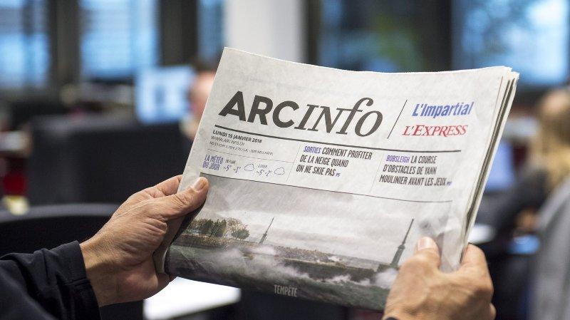 Le conseil suisse de la presse rejette une plainte déposée contre «ArcInfo»