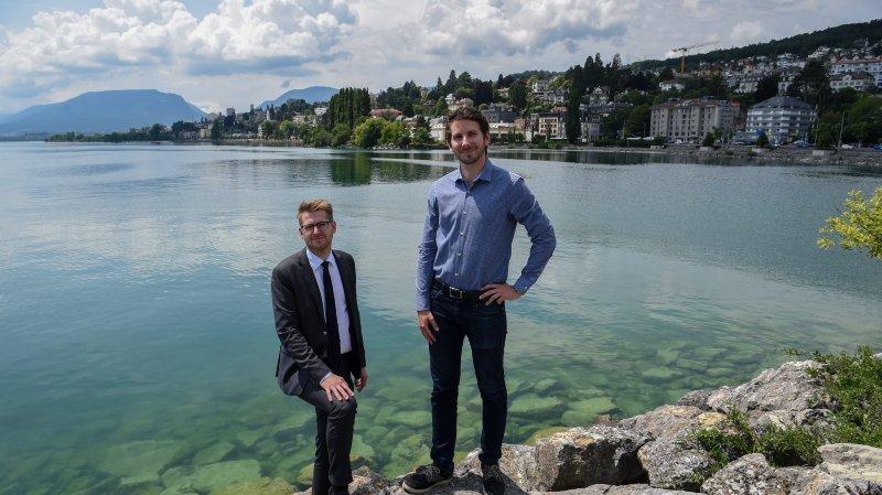 Comment Neuchâtel pourrait s'étendre sur le lac?