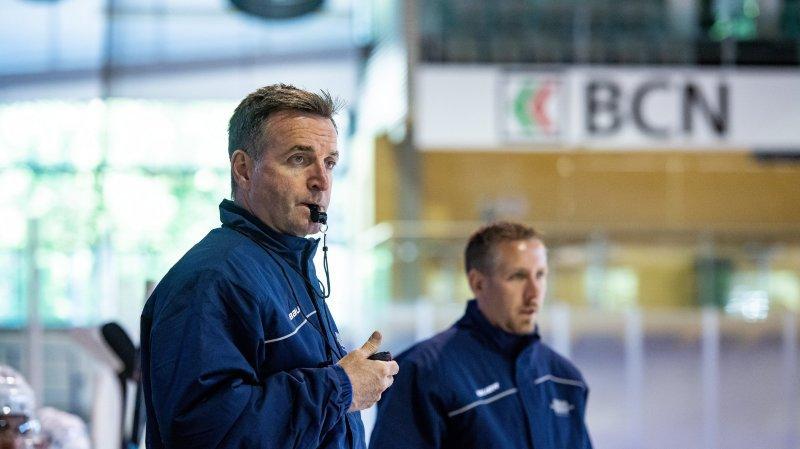 La préparation de cette demi-finale s'annonce difficile et spéciale pour l'entraîneur Serge Pelletier (à gauche) et son assistant Clint Thornton.