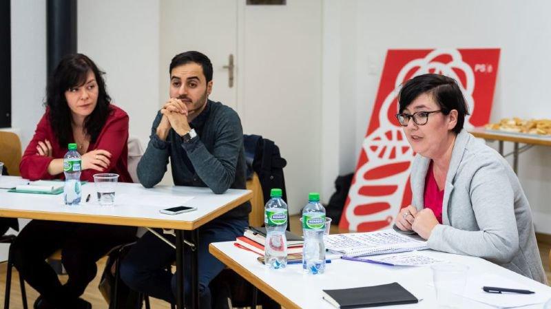 Silvia Locatelli, Oğuzhan Can et Martine Docourt, de gauche à droite.