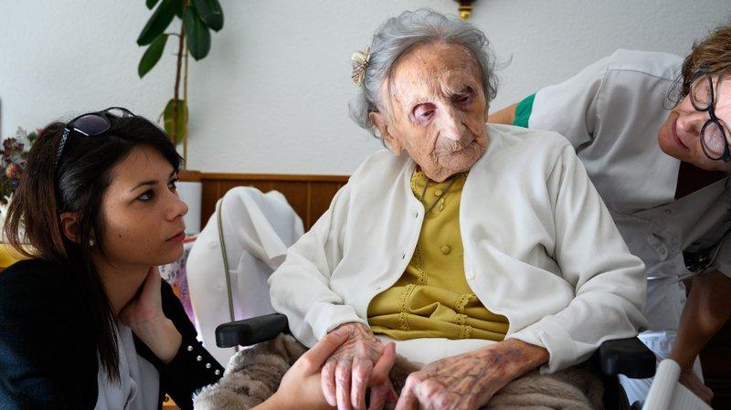 Nelly Perrenoud avait fêté ses 109 ans en février.