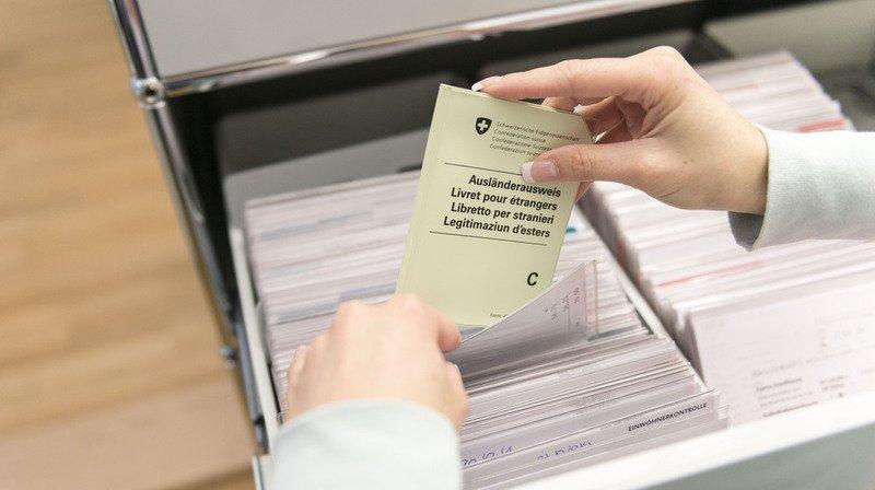 Population étrangère: plus de 140'000 personnes ont immigré en Suisse en 2018