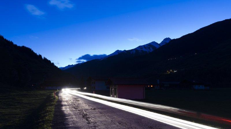Le Département de l'environnement veut cibler l'éclairage uniquement sur les lieux avec enjeux sécuritaires conséquents. (illustration)