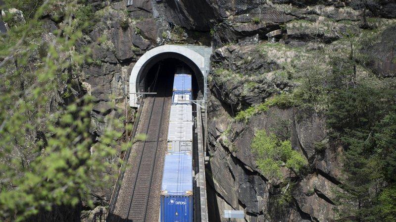 CFF: 100'000 trains ont traversé le tunnel de base du Gothard
