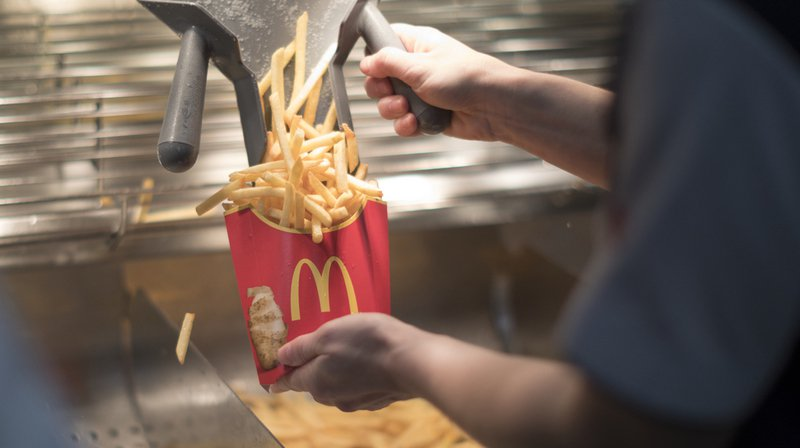 En 2018, McDonald's a accueilli pas moins de 105 millions de clients dans ses 169 restaurants en Suisse.