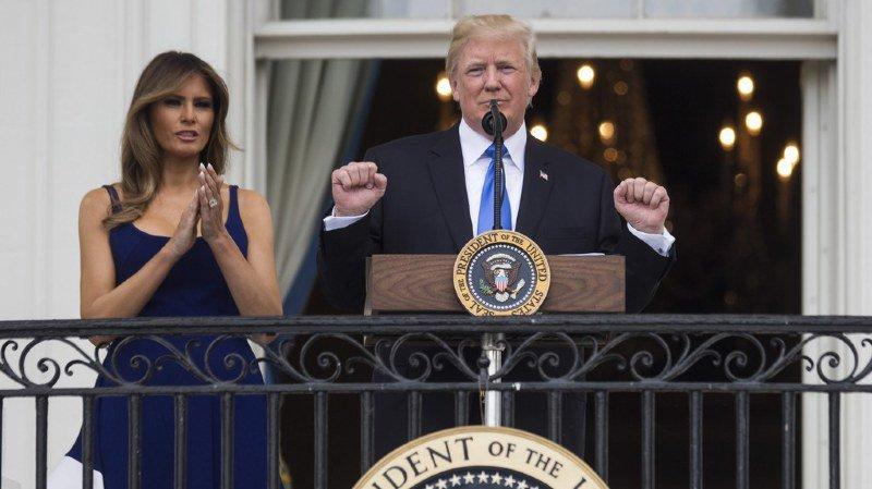 Etats-Unis: Trump veut changer la tradition de la fête nationale américaine et prononcer un discours