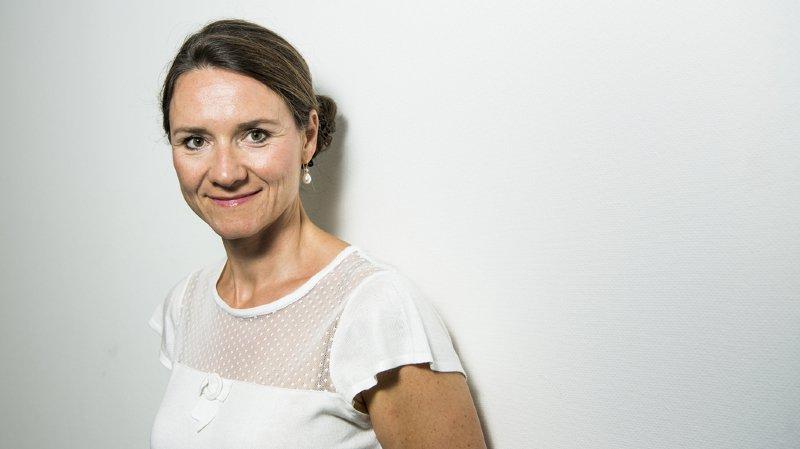 Pour Sophie Michaud Gigon, occuper le devant de la scène, même sous la bannière d'un parti, n'empêche pas de conserver son indépendance.