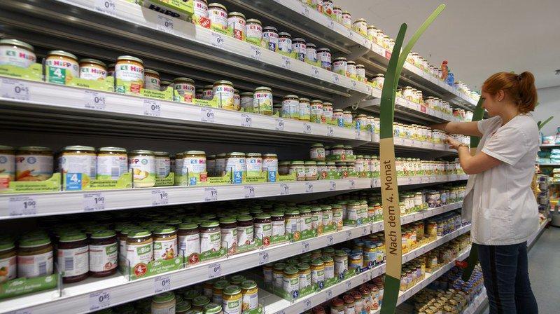 Produits pour bébés: la Suisse doit adopter une réglementation sur l'acrylamide