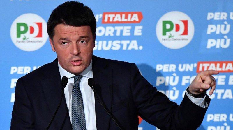 Matteo Renzi a gouverné l'Italie de février 2014 à décembre 2016 (archives).