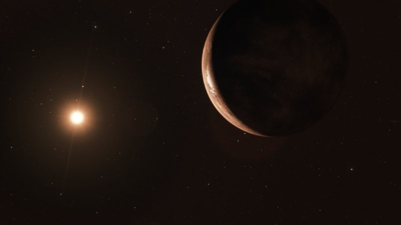 Cette nouvelle planète est la troisième plus proche de notre système solaire jamais découverte.  (Image d'illustration)