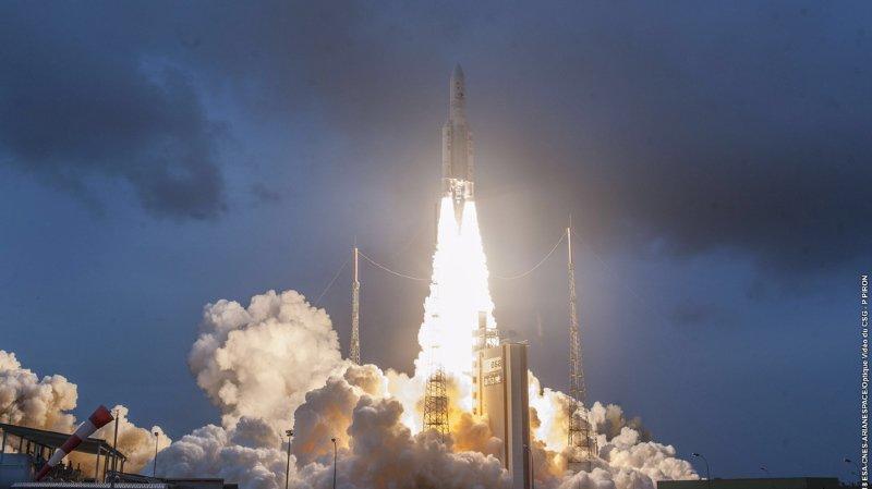 Le premier lancement est prévu ce mercredi soir, depuis la base de Kourou, en Guyane (illustration).