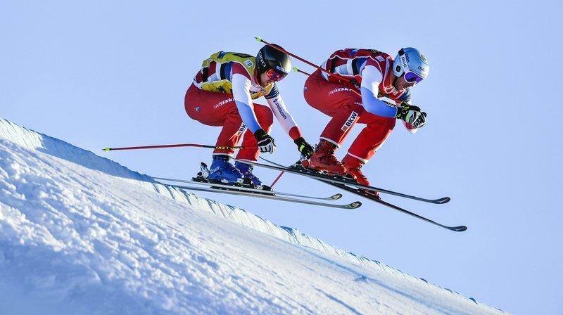 Le Vaudois Romain Detraz, à gauche, a manqué la victoire d'un cheveu.