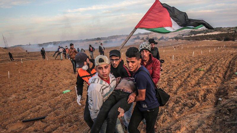 Des travailleurs de santé ou des enfants ont notamment été visés parmi les 6000 personnes victimes de tirs israéliens.