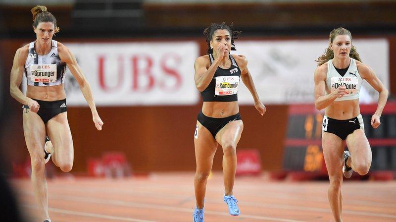 Athlétisme – Championnats de Suisse en salle: Kambundji fuse en 7''08 sur 60m