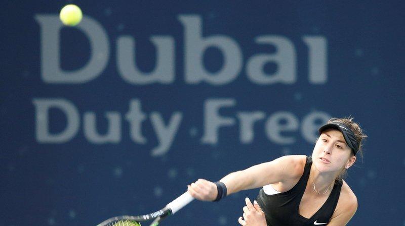 Tennis - Tournoi de Dubaï: Bencic remporte le derby suisse en écrasant Vögele