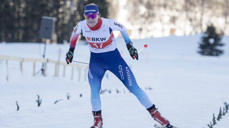Nadine Fähndrich a échoué à huit centièmes d'une place en finale.