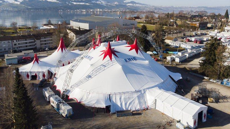 Près de 500 personnes ont participé au financement participatif du nouveau chapiteau du Cirque Knie, qui est désormais prêt pour la tournée du centenaire.
