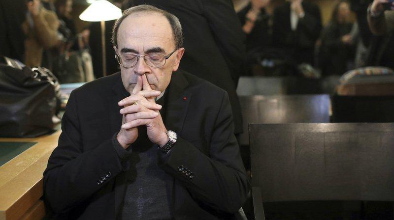 Le cardinal Philippe Barbarin était absent au moment du verdict.