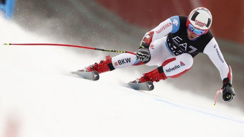 Ski alpin – Combiné de Bansko: Mauro Caviezel en tête après le Super-G