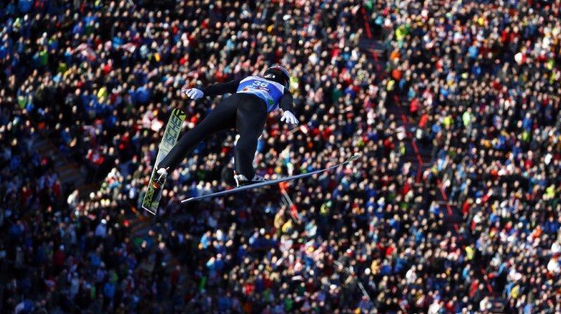 Ski nordique - Mondiaux de Seefeld: le Vaudois Killian Peier en tête au grand tremplin après la première manche