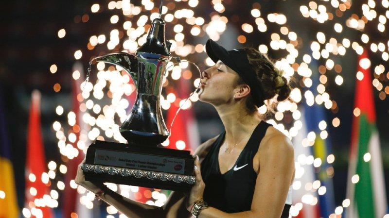 Titrée à Dubaï, Belinda Bencic occupe désormais la 23e place du classement WTA (archives).