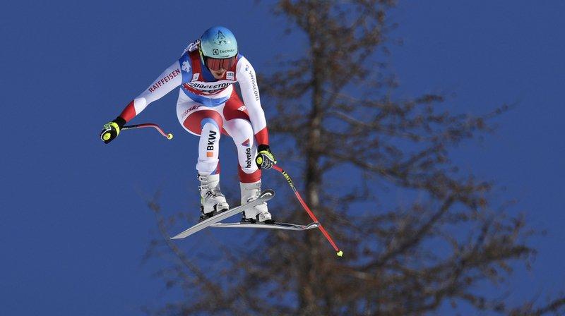 Ski alpin: Wendy Holdener placée après la descente du combiné de Crans-Montana