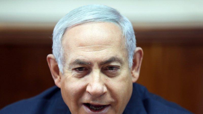 M. Netanyahu ne devrait pas être inculpé avant les législatives anticipées (archives).