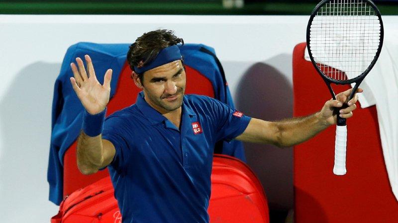 Tennis - Tournoi de Dubaï: victoire poussive de Federer au 1er tour