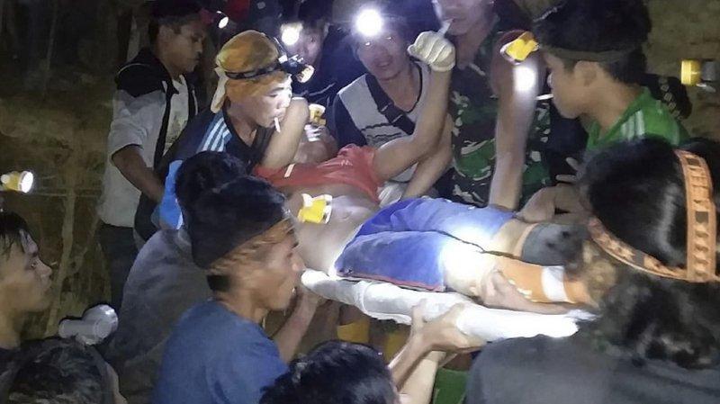 Indonésie: une mine d'or s'effondre faisant une quinzaine de blessés et un mort