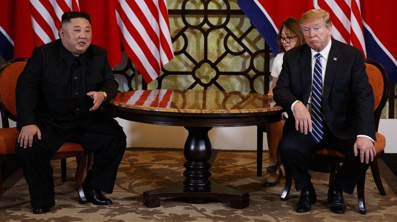 Donald Trump et Kim Jong Un se sont quittés sans accord.