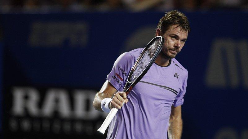 Tennis – Tournoi d'Acapulco: Wawrinka éliminé en quarts par l'Australien Kyrgios