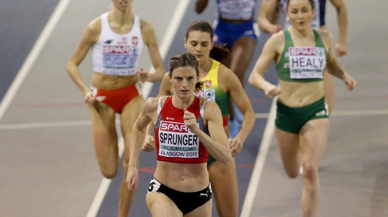 Lea Sprunger est largement au-dessus de la concurrence. Il faudra confirmer en finale.