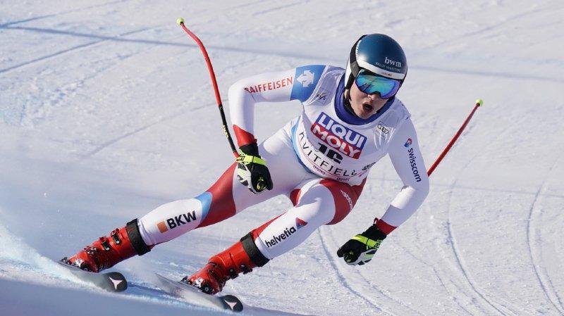Ski alpin: Thomas Tumler et Niels Hintermann blessés en Norvège