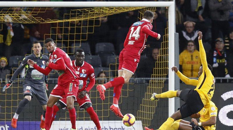Football: Sion craque encore en fin de match contre Young Boys