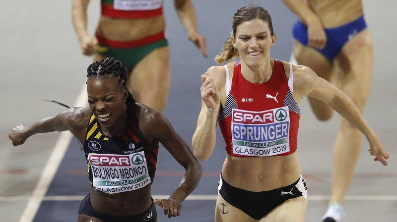 La championne d'Europe 2018 du 400m haies a dû s'arracher pour devancer Cynthia Bolingo Mbongo.