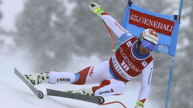 Ski alpin: Beat Feuz termine à la 3e place du super-G de Kvitjfell, remporté par Dominik Paris