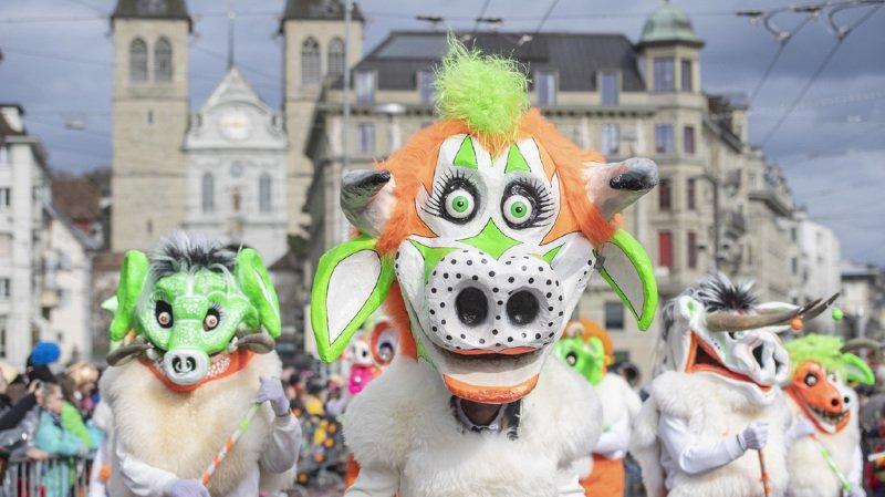 Le carnaval de Lucerne est le deuxième plus important de Suisse après celui de Bâle.