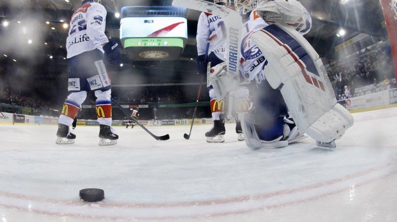 Fans zurichois arrêtés avant un match à Genève