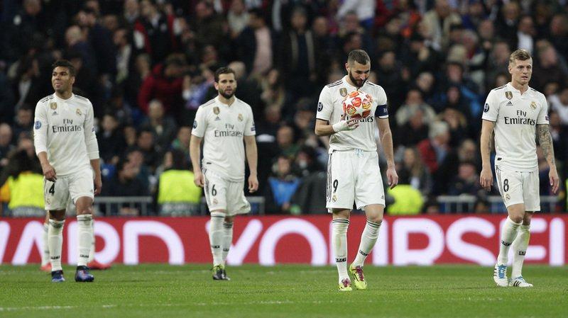 Le Real Madrid ne verra pas les quarts de finale.