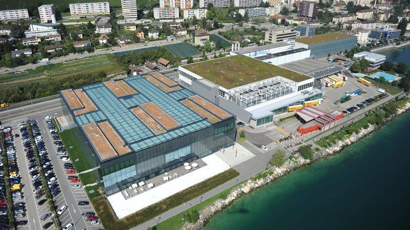 Le Bâtiment J, comprenant actuellement un hall et quelques bureaux, pourrait être surélevé.