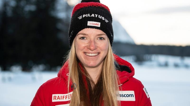 Nadine Fähndrich, leader de l'équipe de Suisse en sprint.