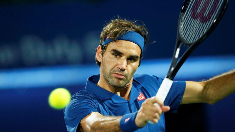 Retour poussif pour Roger Federer à Dubaï