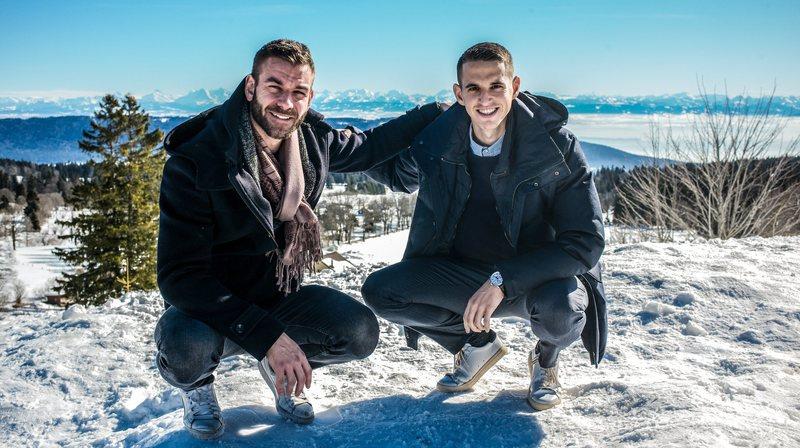 «Rendez-vous»: rencontre entre glace et gazon avec le hockeyeur Jérôme Bonnet et l'arbitre Lionel Tschudi